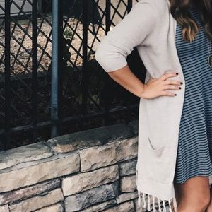 Old Navy Fringe Cardigan